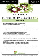 2015 WORKSHOP DE MECANICA