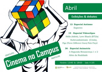 2016 Cinema no Campus Abril